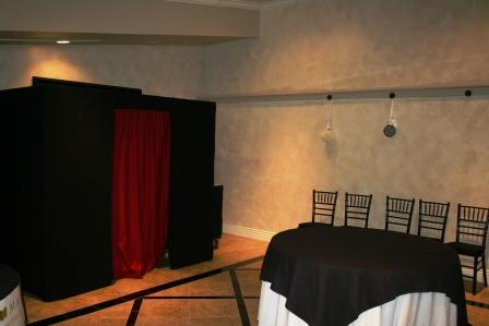 our photo booth at Le Chateau