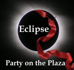 Eclipse Party on the Plaza Logo