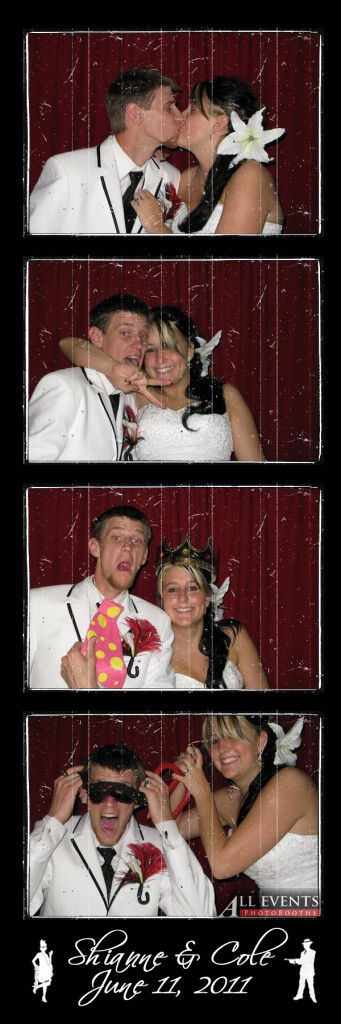 Shianne and Cole in the Photo Booth