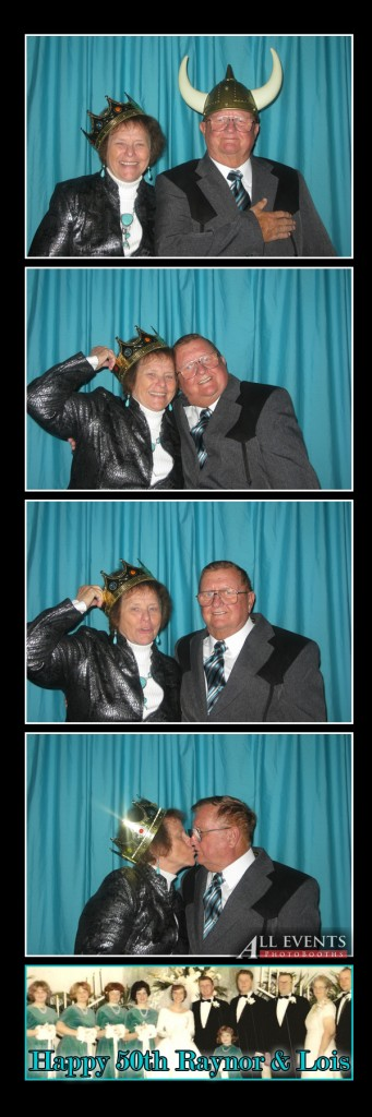 Raynor and Lois in the photo booth