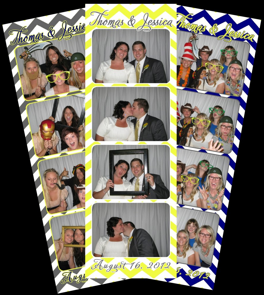 Jessica Photo Booth Layouts