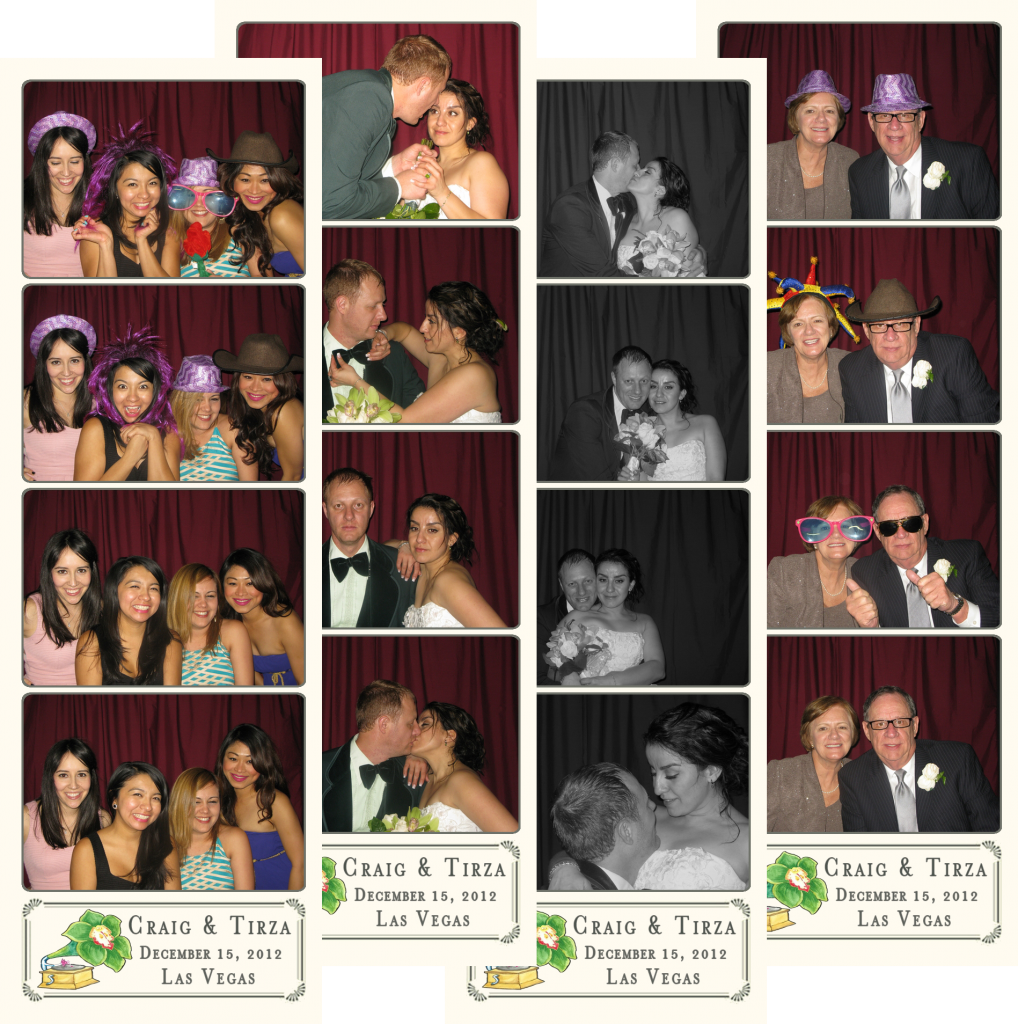 Craig and Tirza in the Photo Booth