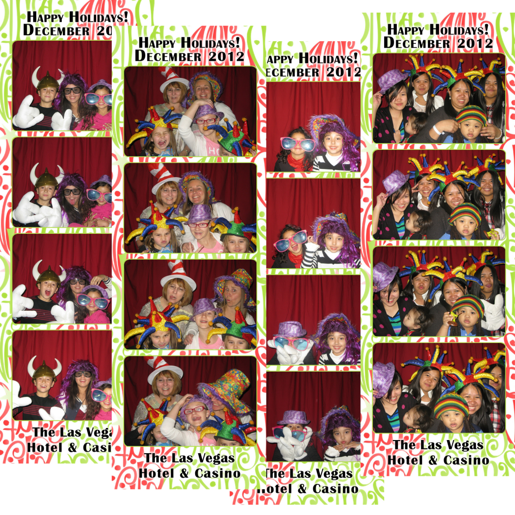 Las Vegas Hotel and Casino Photo Booth
